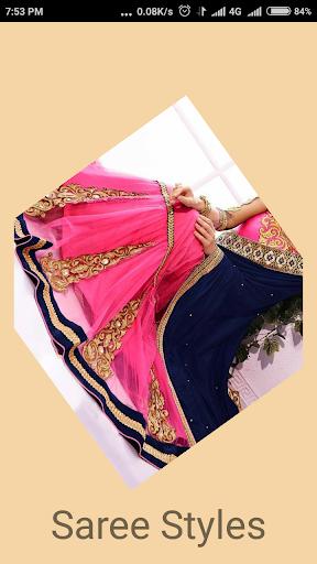 Saree Wearing Style Videos screenshot 3