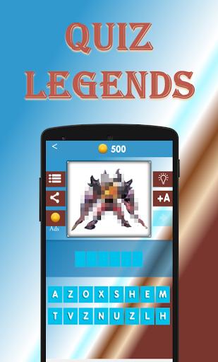 Quiz Legends. Guess the Hero 2 تصوير الشاشة