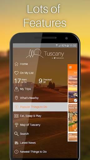 Tuscany Travel Guide screenshot 4