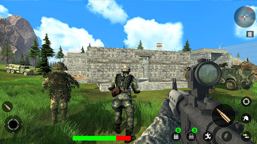 Survival Free Fire Battlegrounds: FPS Shooting 3D screenshot 2
