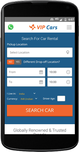 VIPCars.com – Car Rental screenshot 1
