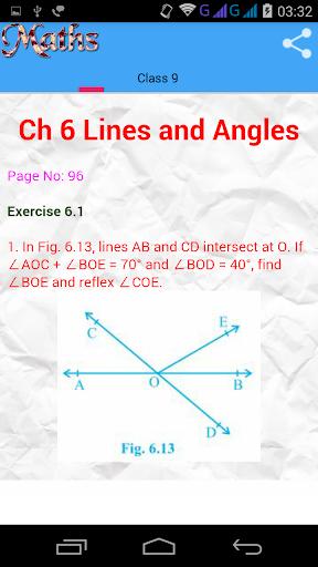 Class 9 Maths Solutions screenshot 4
