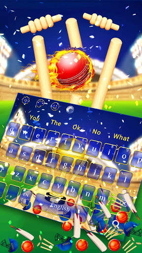 Cricket Champion Gravity Keyboard Theme screenshot 2