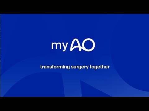 myAO - Transforming surgery together screenshot 1
