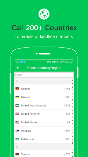 Free Calls - International Phone Calling App screenshot 3