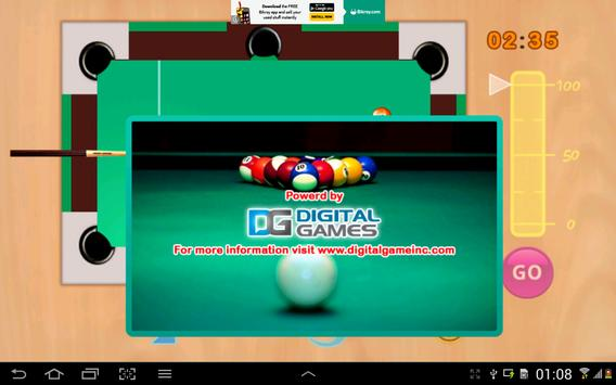 Snooker game screenshot 7