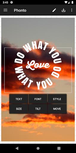 Phonto - Text on Photos 2 تصوير الشاشة