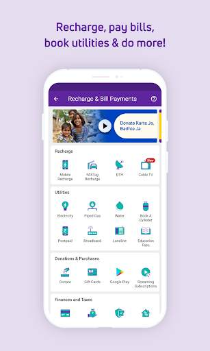 PhonePe – UPI Payments, Recharges & Money Transfer screenshot 2