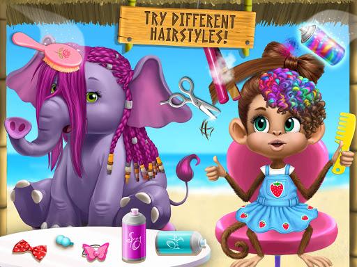 Jungle Animal Hair Salon 2 - Tropical Beauty Salon स्क्रीनशॉट 15