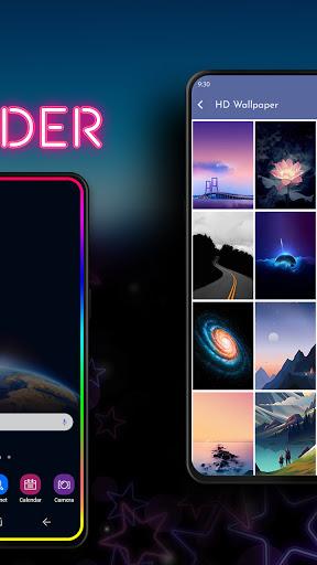Phone Screen Edge Border Light Live Wallpaper screenshot 2