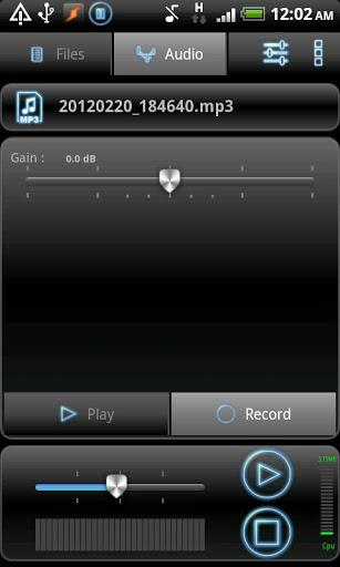 RecForge Lite - Audio Recorder 5 تصوير الشاشة