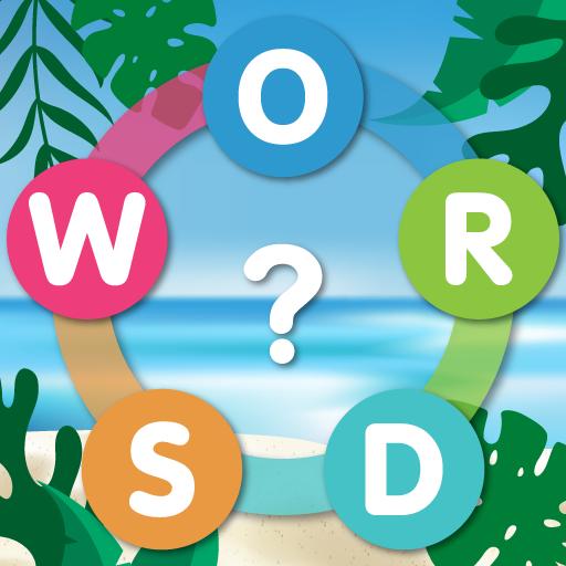 Word Search Sea: Unscramble words आइकन