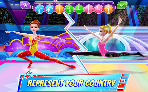 Gymnastics Superstar - Spin your way to gold! 1 تصوير الشاشة