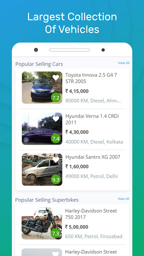 Droom - Buy or Sell Used and New Car, Bike, Scooty screenshot 2