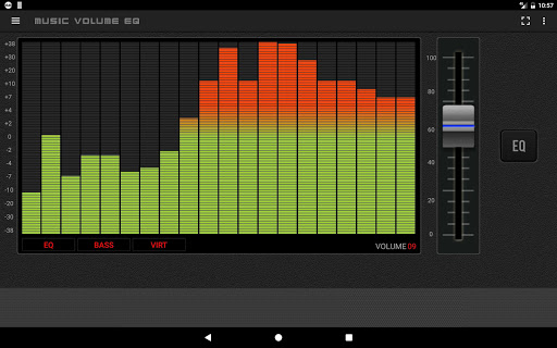 Music Volume EQ — Equalizer Bass Booster Amplifier 11 تصوير الشاشة