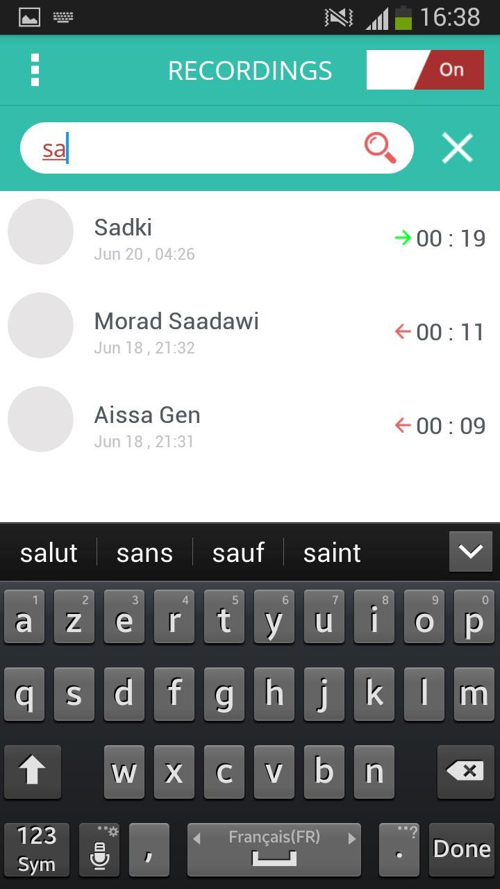 Automatic Hidden Call Recorder screenshot 4