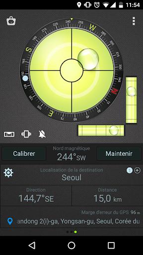 Boussole Niveau et GPS screenshot 5