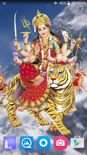 4D Maa Durga Live Wallpaper 4 تصوير الشاشة