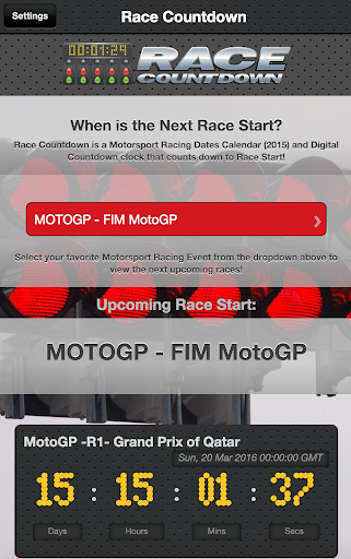 Motorsport Racing Calendar 3 تصوير الشاشة