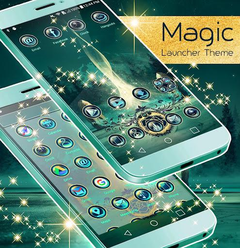 Magic Launcher Theme screenshot 3
