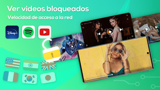 XY VPN - Gratis, Seguro, Desbloquear, Super screenshot 2