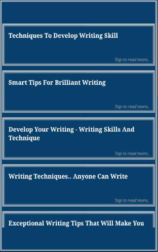 Writing Skills screenshot 12