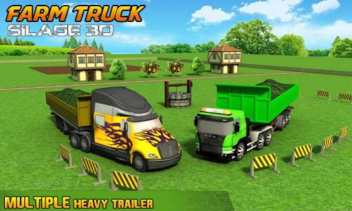 Farm Truck : Silage Game screenshot 5