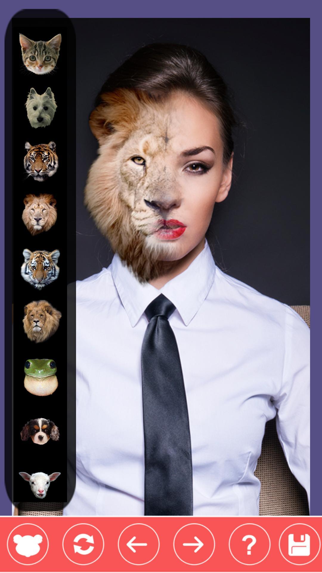 Animal Face Photo screenshot 2