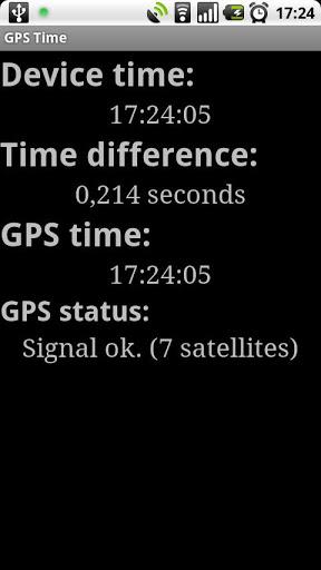 GPS Time screenshot 2