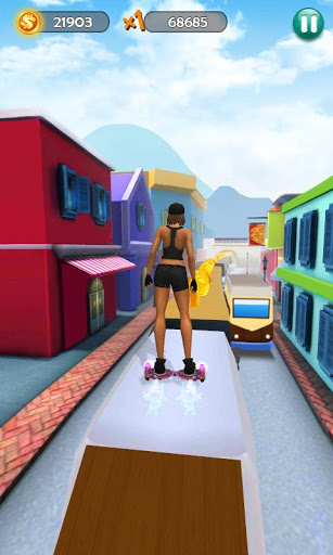 Hoverboard Surfers 3D screenshot 1