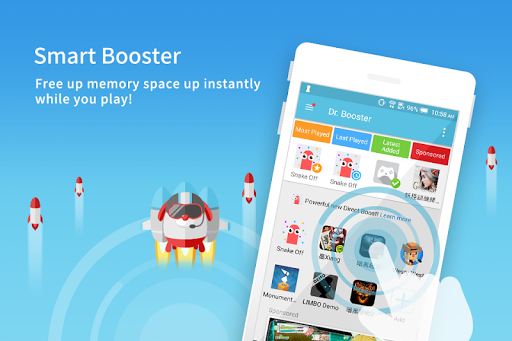 Dr. Booster - Boost Game Speed 1 تصوير الشاشة