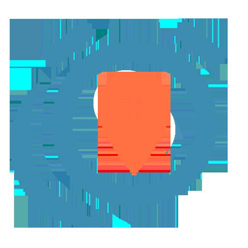 Destination alarm icon