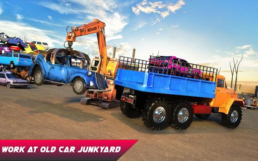 Car Crusher Crane Driver Dumper Truck Driving Game screenshot 13