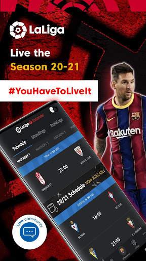 La Liga Official App - Live Soccer Scores & Stats screenshot 3