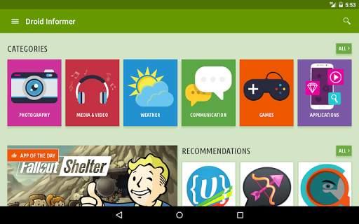 Droid Informer screenshot 8