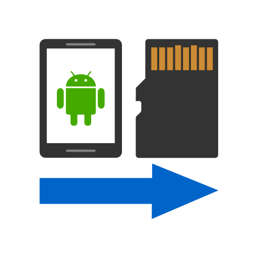Files To SD Card أيقونة