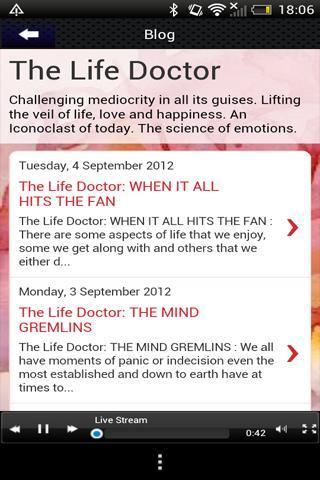 Life Radio International screenshot 4