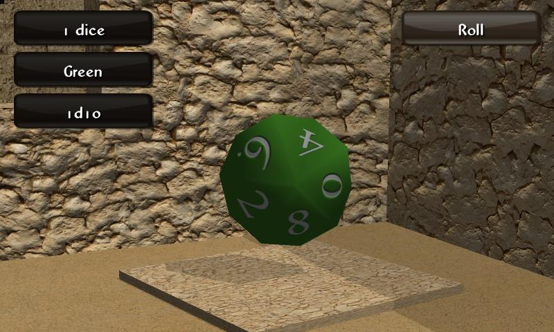 Mad Dice Roller 3D screenshot 2