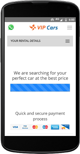 VIPCars.com – Car Rental screenshot 2