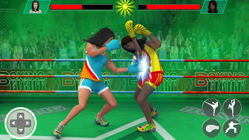 Real Punch Boxing Games: Kickboxing Super Star screenshot 4