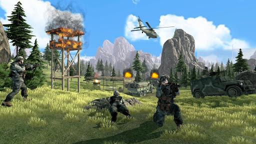Survival Free Fire Battlegrounds: FPS Shooting 3D screenshot 3
