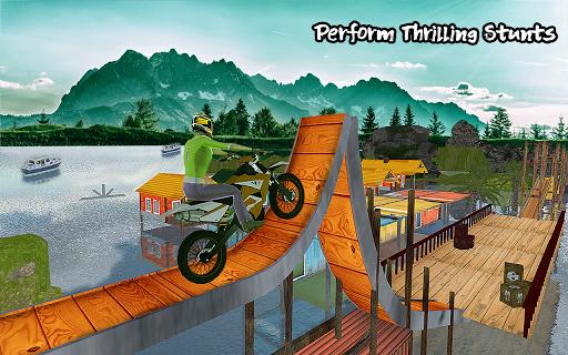 Ramp Bike Impossible Bike Stunt Game 2020 screenshot 2