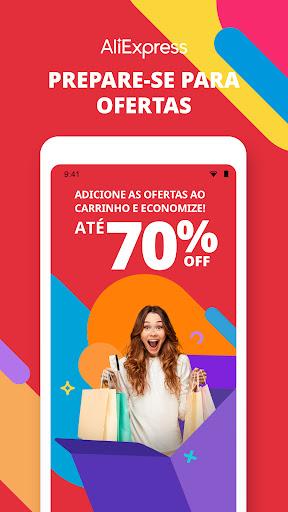 AliExpress - Compras inteligentes, Vida Melhor screenshot 1