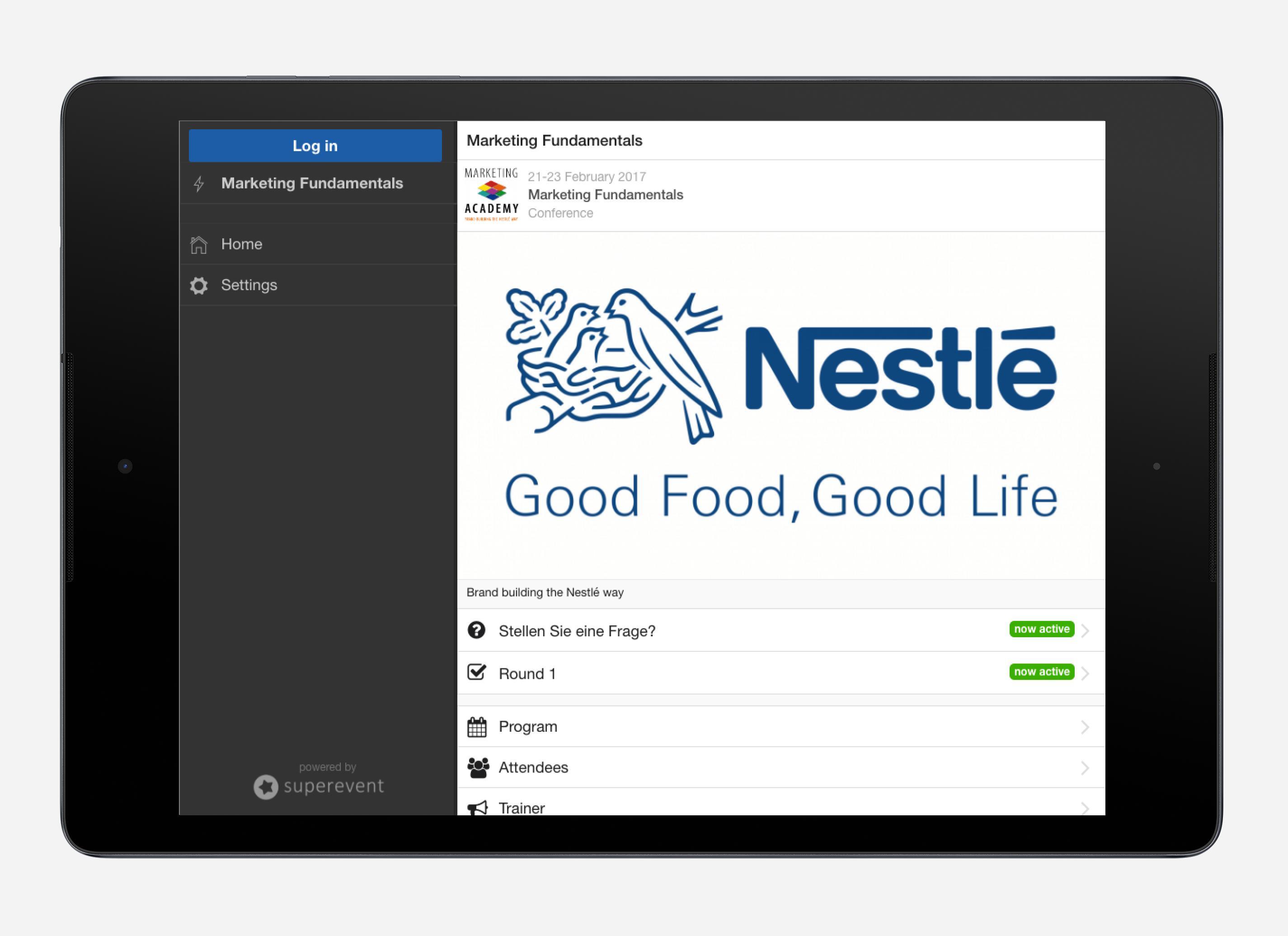 Nestlé Events Germany screenshot 4