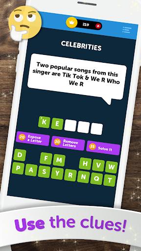 Crossword Quiz - Crossword Puzzle Word Game! 5 تصوير الشاشة