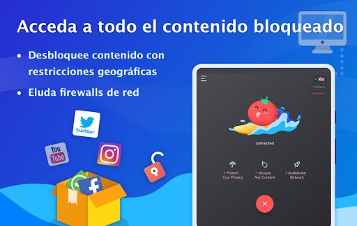 VPN Tomato gratis | Veloz proxy VPN hotspot gratis screenshot 8
