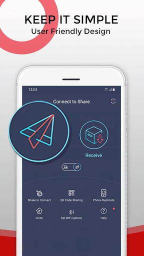 Zapya - File Transfer, Share Apps & Music Playlist screenshot 1