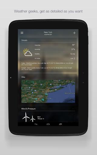 Yahoo Weather 15 تصوير الشاشة