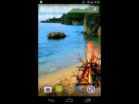 Bonfire Video Live Wallpaper screenshot 1