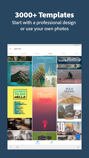 Adobe Spark Post: Graphic Design & Story Templates 15 تصوير الشاشة